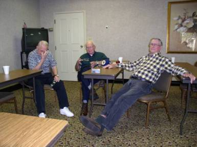 Don Luttrell, Roger Weatherbee, Bill Armstrong