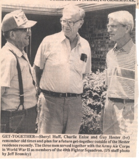 The above picture appeared in the Burkburnett (TX) Informer/Star on Thursday, July 1, 1993.