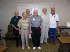 Roger Weatherbee, Jack Lenox, Bill Armstrong, Don Luttrell, Sparky Sparks, Jack Schetler