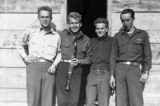L-R- Jim Riley, Walt King, Jack Lenox, Harry Greenup