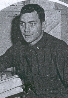 1st Lt. Oliver N. Jackson Squadron Adjutant