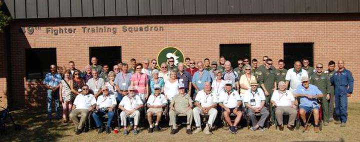 The group with the 49th Fighter Training Squadron