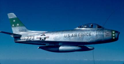 F-86F at Dow