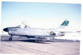 F-86D at Dow