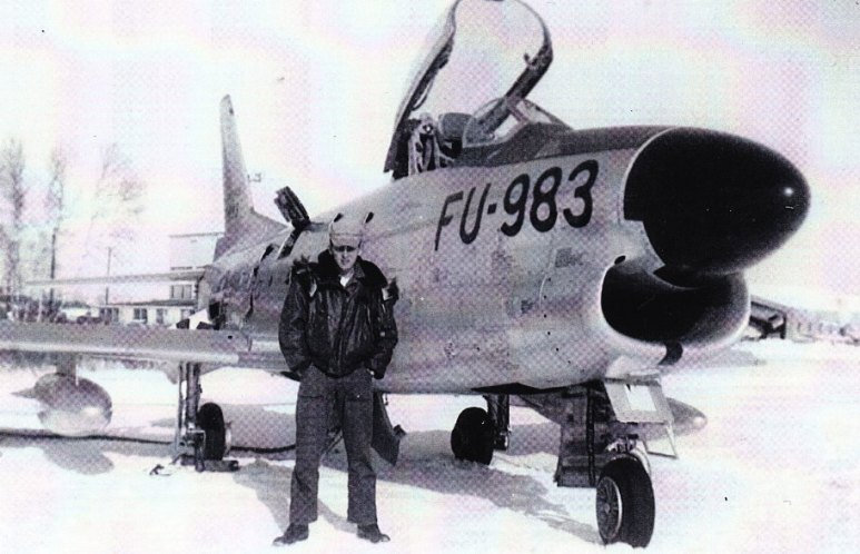Dave Jeffrey at Dow (winter 1954)