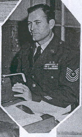 M/Sgt John Camp, 1st Sergeant