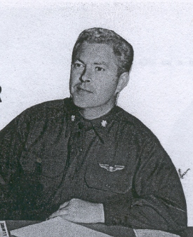 Major Hayden H. Holton, Squadron Executive Officer