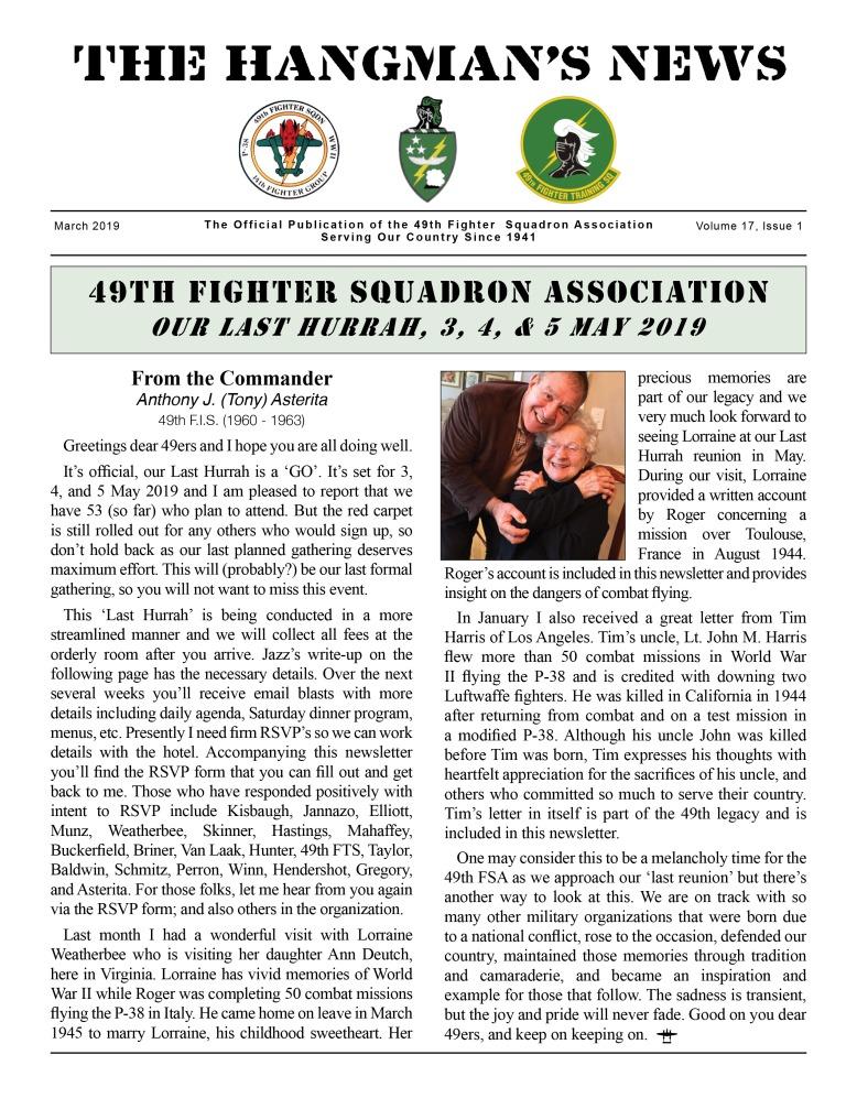119028 Hangmans Newsletter Feb 2019 PRINT